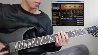 POD HD500x Metal Patch Burgerkill Atur Aku Intro Cover By Eto 39 X