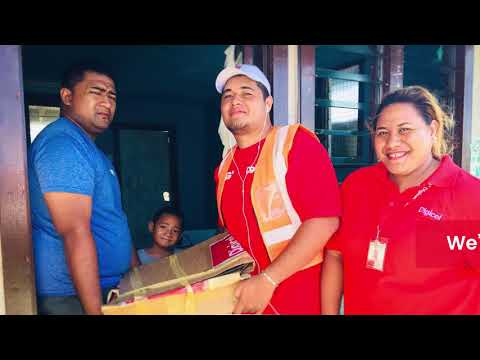 Digicel Tonga Post Cyclone Gita Relief