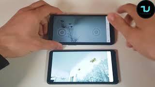 Unreal Paris Gameplay/Gaming on Xiaomi Mi Mix vs OnePlus 5T smartphones/2018