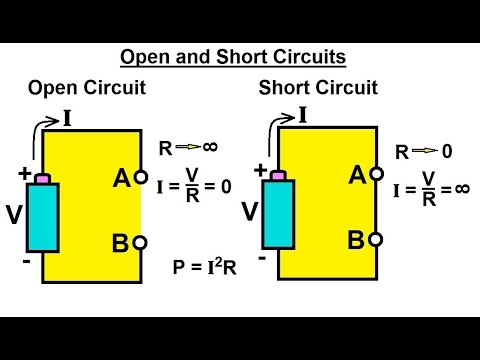 Electrical Engineering Basic Laws 3 Of 31 Open And Short Circuits