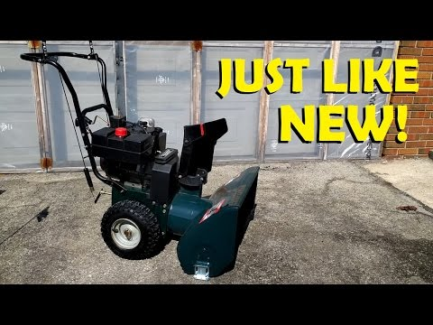 How to Fix Up a Snow Blower!