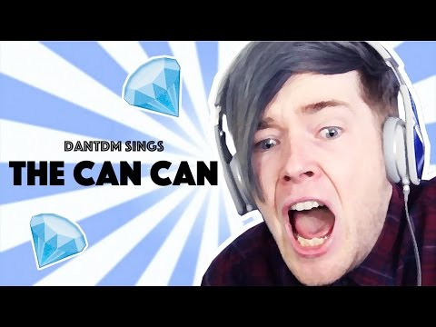 DanTDM Sings the Can Can
