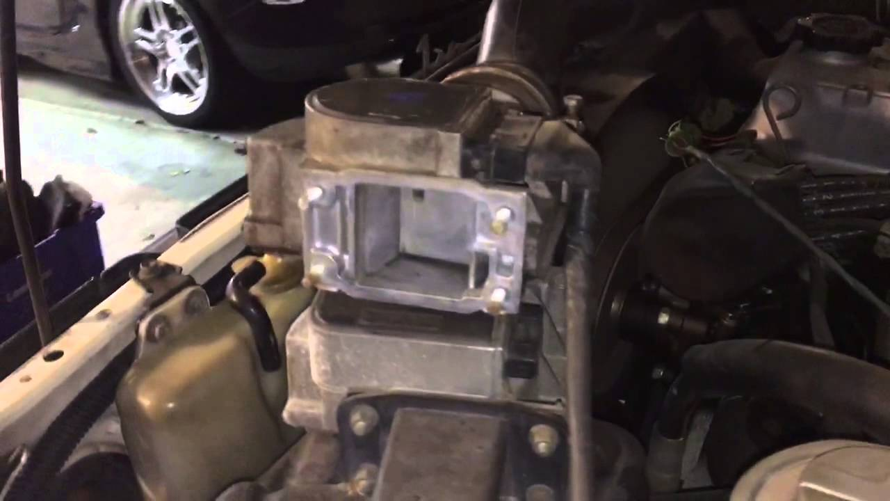 Toyota 22re Air Flow Sensor Test Youtube 89 7mge Engine Wiring Diagram