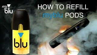 How To Save Money Refilling myblu Pods