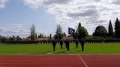Satakunnan lennosto nimitti 165 uutta lentosotamiestä Ylöjärvellä – hornetti teki esittelylennon sot