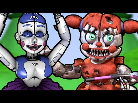 Baby's Nightmare Circus Bike Fighter (Part 1) || A WHOLE NEW REALM OF UNNERVING NIGHTMARES!!!