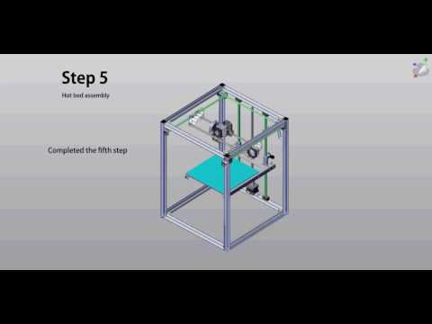 hqdefault flyingbear p902 metal 3d printer kit assembly 05 youtube  at webbmarketing.co