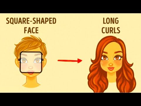 How toChoose the Best Hairstyle for Your Face
