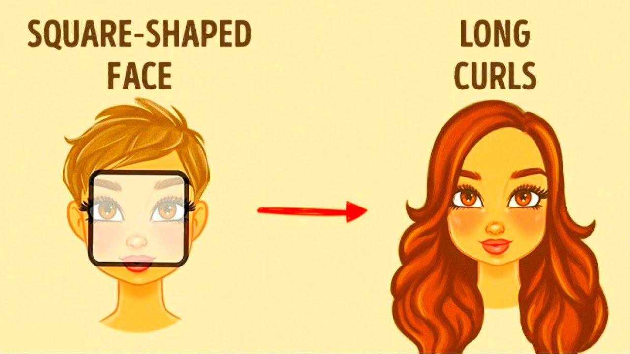 How To Choose The Best Hairstyle For Your Face Youtube