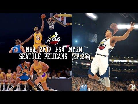 NBA 2K17 PS4 Seattle Pelicans MYGM - BREAKING THE 71