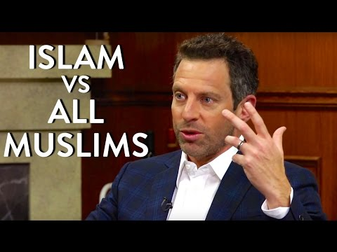 Sam Harris: Islam vs All Muslims