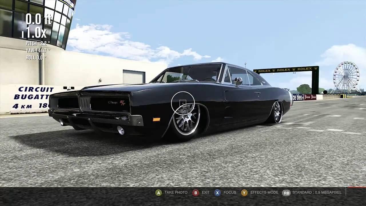 Forza 4 1969 Dodge Charger Slammed Monster Youtube