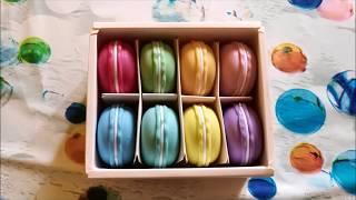 FUNTOK 8PCS Macarons Slime Crystal Amazon recensione review