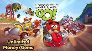 Angry Birds Go Unlimited Money And Gems Mod No Root