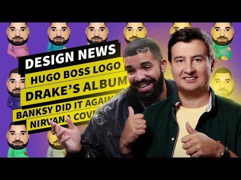 Design News: Drake's Album Art | Hugo Boss New Logo | Nirvana Cover | Banksy Art