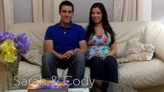 Meet Sarah and Cody: Finalists for Brides Live Wedding!