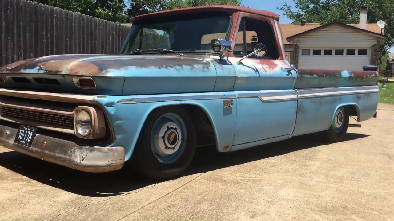 small resolution of 1966 c10 air ride install