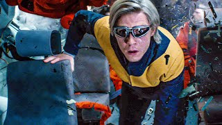 Quicksilver saves Astronauts - Space Mission Scene - X-MEN: DARK PHOENIX (2019) Movie Clip
