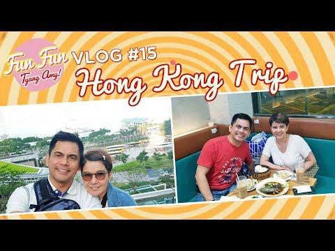 Fun Fun Tyang Amy Vlog 15 : Anniversary Trip in Hong Kong