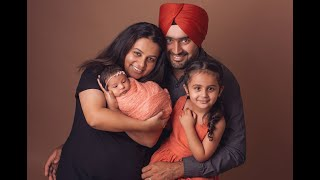 Newborn Session Video Making Of - Baby Harjind
