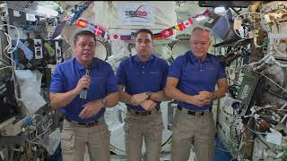 Expedition 63 Inflight with New York Times, Fox News, and USA Today - July 7, 2020