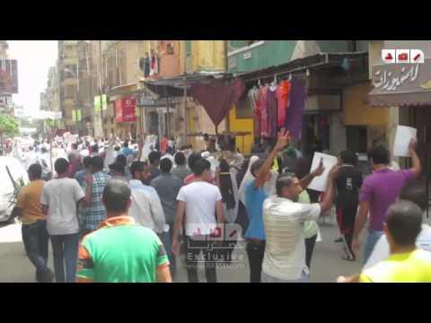 مسيرة انطلقت بعد صلاة الجمعة بمنطقة غيط العنب وسط الاسكندرية للمطالب برحيل السيسي