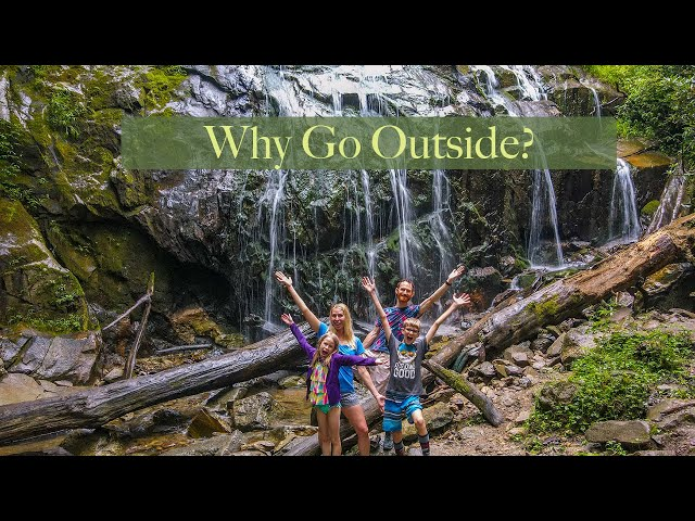 Why Go Outside? | Waterfalls and Adventure | Let kids be kids!