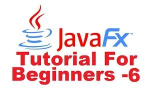 JavaFx Tutorial For Beginners 6 - Events with JavaFX Scene Builder