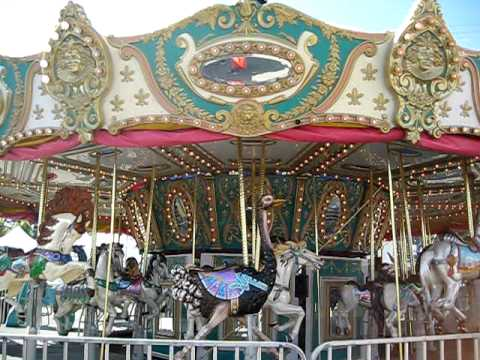 Carousel Ride Giants County Fair AT&T Park San Francisco ...
