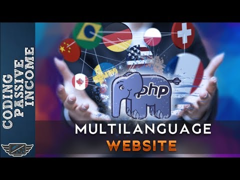 PHP Multi Language Website Tutorial: Create Dynamic Website In 20 Minutes