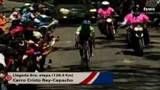 TVes - Llegada de la etapa 8 en la Vuelta al Táchira 2014