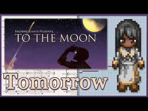 """""""Tomorrow"""" from To The Moon - Transcription (Sheet Music)"""