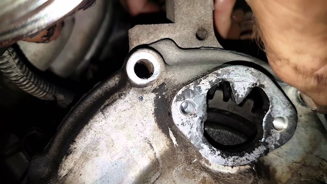 Holden    rodeo    28 diesel pump timing mark  YouTube