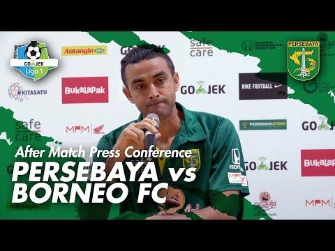 AMPC | Dutra: Saya Malu Sekali, Saya Minta Maaf, Harus Kerja Keras Lagi | Persebaya vs Borneo FC