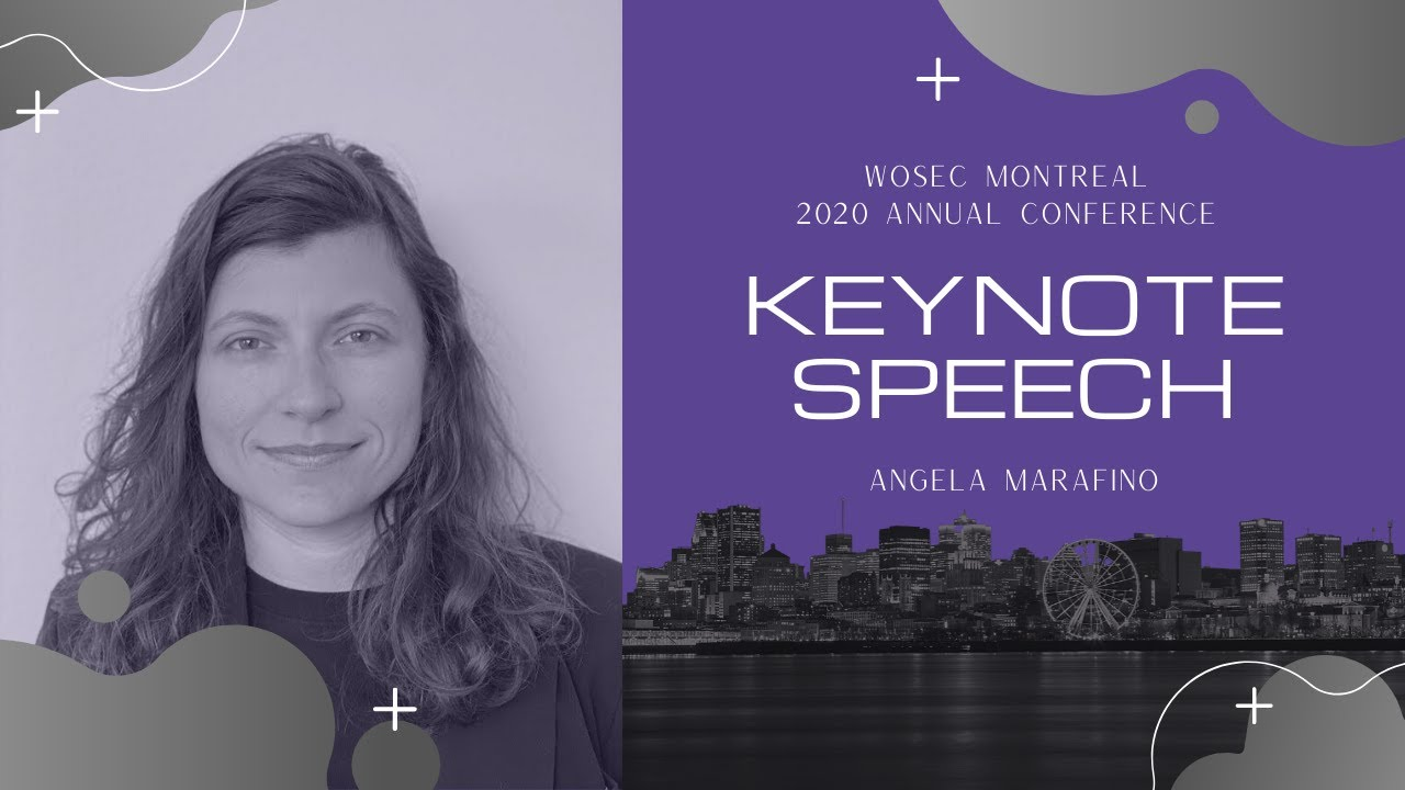 [Video] Angela Marafino - Keynote Speech