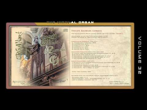 THE SOUTH GERMAN ORGAN SCHOOL  / Volume 1 - Fred Pisecki, various organ sample sets
