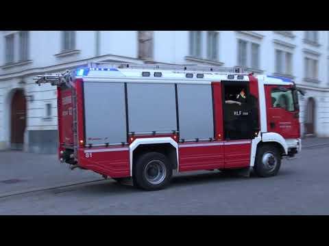2x HGrKw Polizei Wien & HLF Berufsfeuerwehr Wien