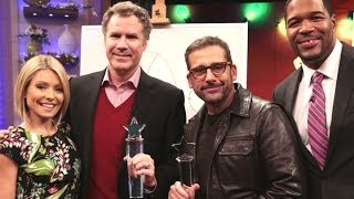 "Will Ferrell and Steve Carell: ""Sketching with the Stars"""