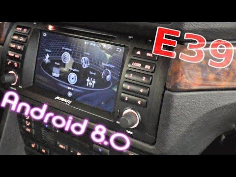 BMW E39 Android radio nachrüsten