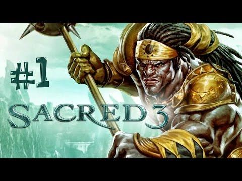 Sacred 3. Прохождение. Часть 1 (Начало)