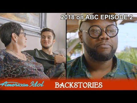Full Backstory GARRETT JACOBS  And  THADDEUS JOHNSON  &Family Scene American Idol 2018 Episode 2