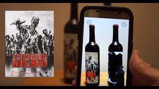زجاجة الخمور التسمية يستخدم الواقع المعزز لإشراك العملاء