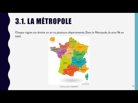 La France physique et administrative (avec audio)
