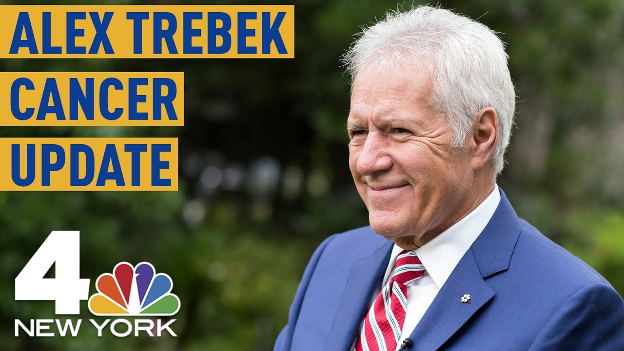 Alex Trebek shares update on cancer treatment, says he's looking ...