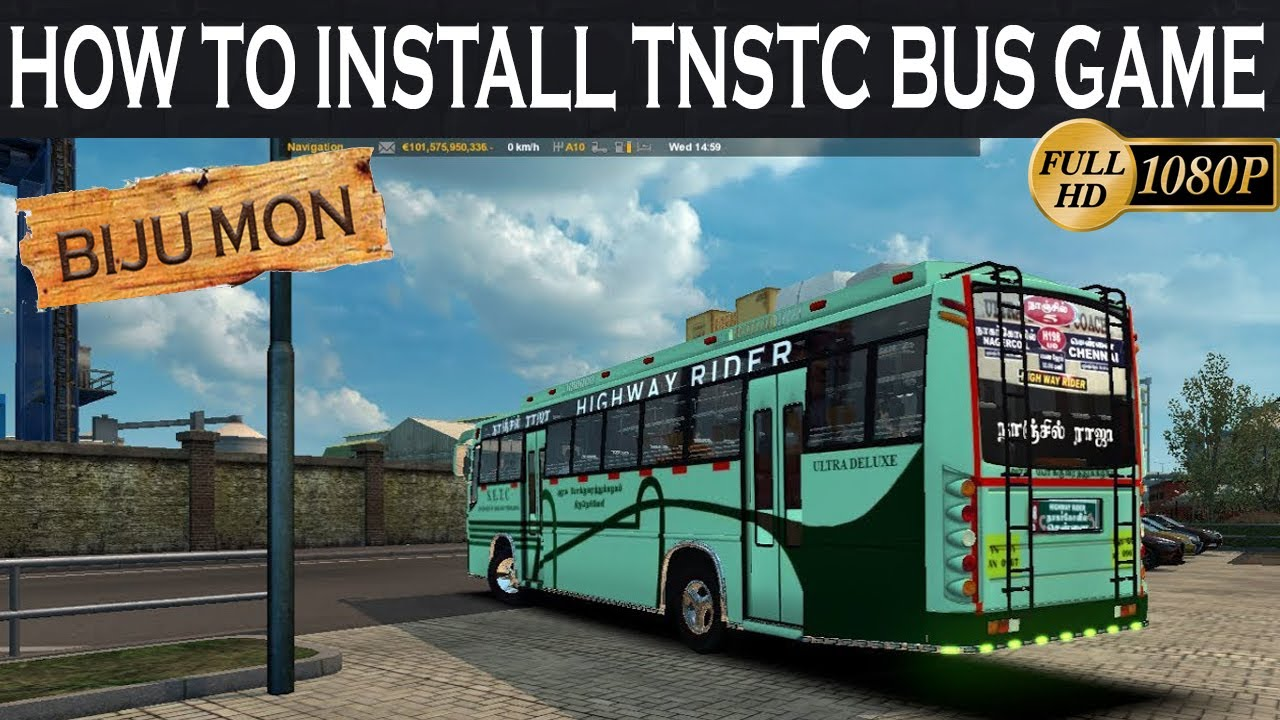 How To Install Tamilnadu Bus Game With Nanjil Raja Bus Tnstc Bus Game Youtube