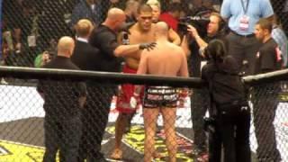 Fedor vs Silva Full Fight Strikeforce Grand Prix Round 1/2