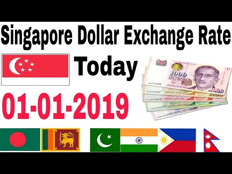 Singapore Dollar Exchange Rate Today | 1 January 2019 | Today Singapore Dollar Exchange Rate | Hindi