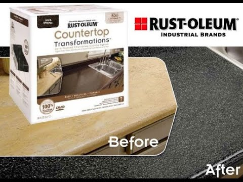 Rust Oleum Countertop Transformation How To And Review