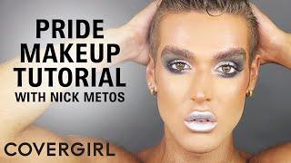 Pride Makeup Tutorial: Smokey Silver Eyeshadow Look | COVERGIRL