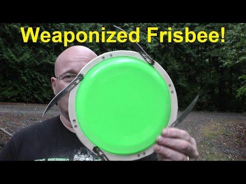 The Scalpel Blade Frisbee!